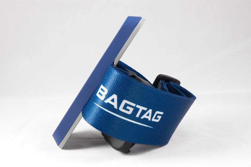 BAGTAG device and belt