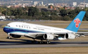 China Southern Airlines Airbus A380