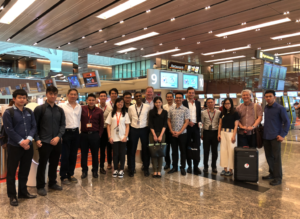 BAGTAG team at Singapore Changi Airport