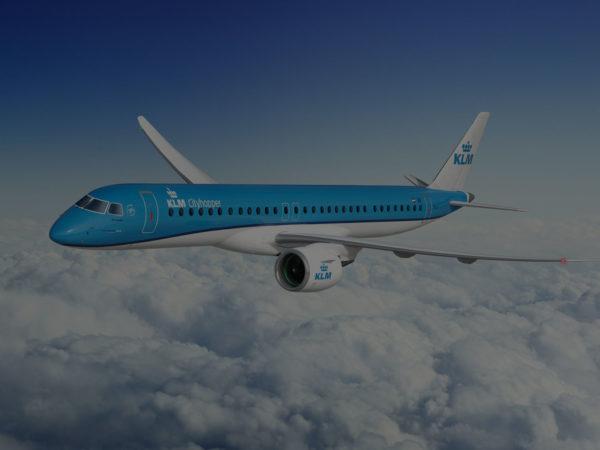 KLM Cityhopper Embraer