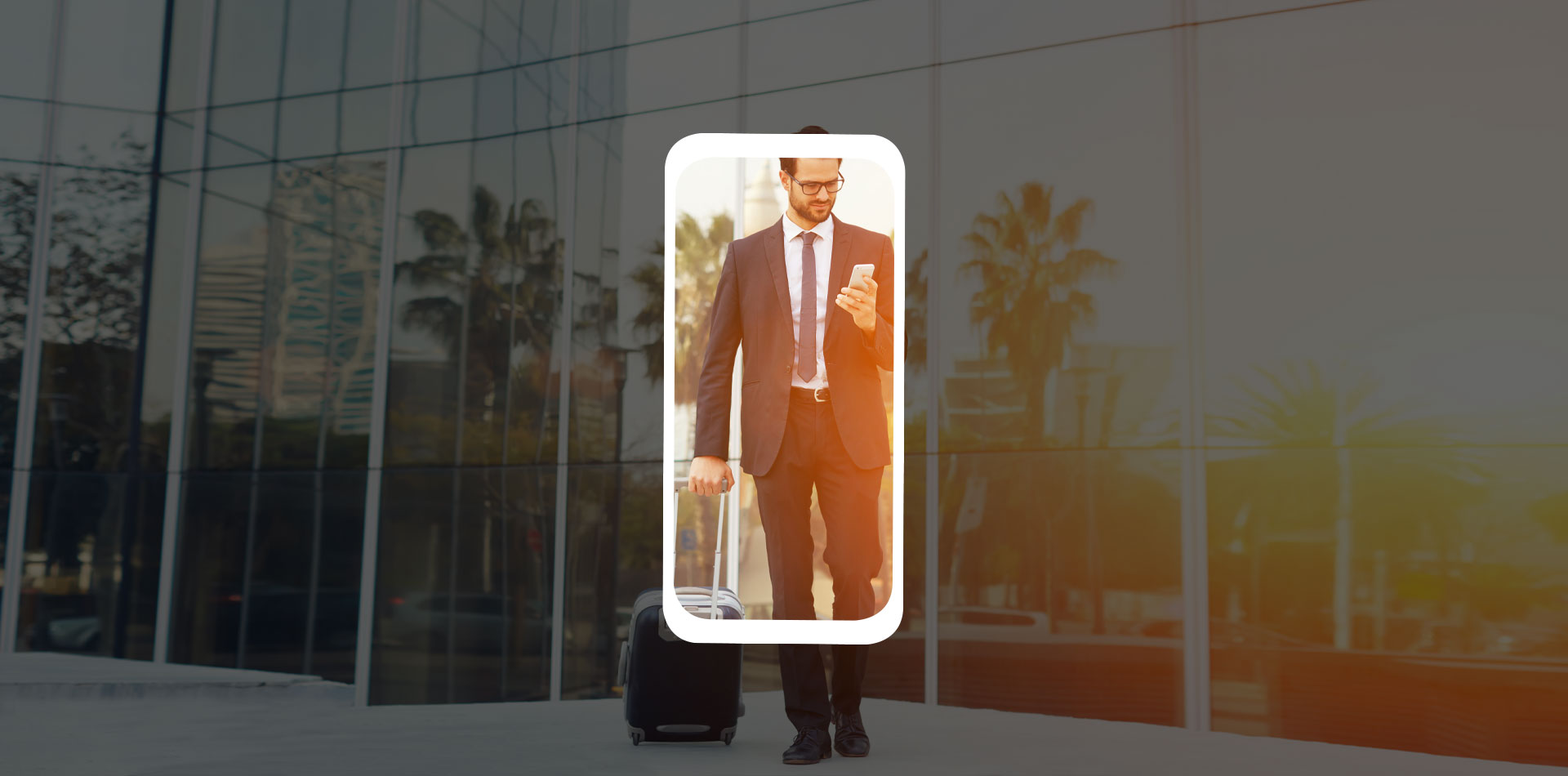 BAGTAG business man traveling safe and mobile app